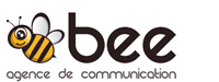 Bee Agence de communication Logo